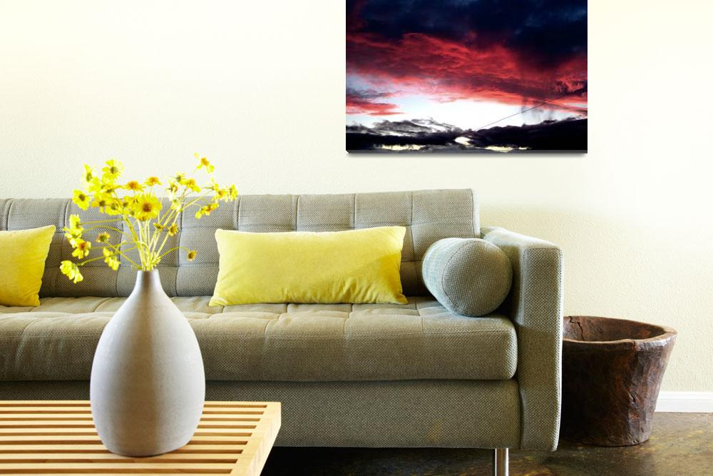 """""""redsky&quot  (2006) by toph"""