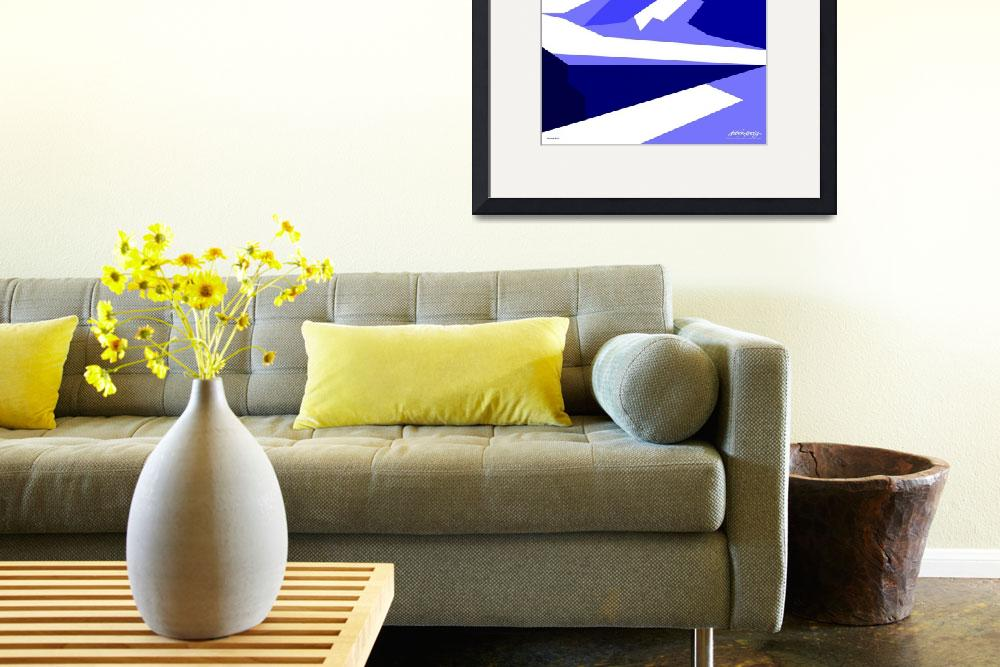 """""""Everest Blue - Art Gallery Selection&quot  by Lonvig"""