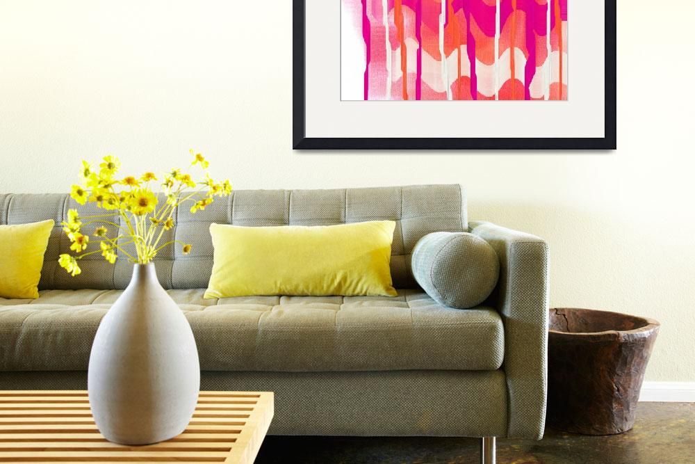 """""""Colorful Waves Abstract&quot  (2013) by TolliverArts"""