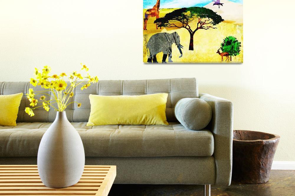 """Wildlife in Africa""  by Design4uStudio"