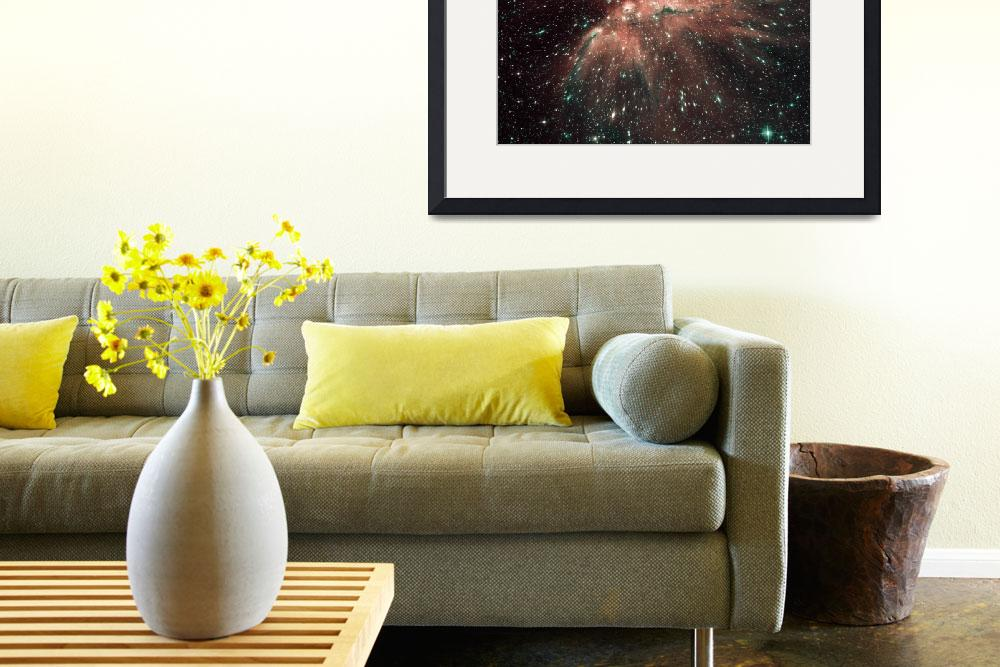 """""""A population of infant stars in the Milky Way&quot  by stocktrekimages"""