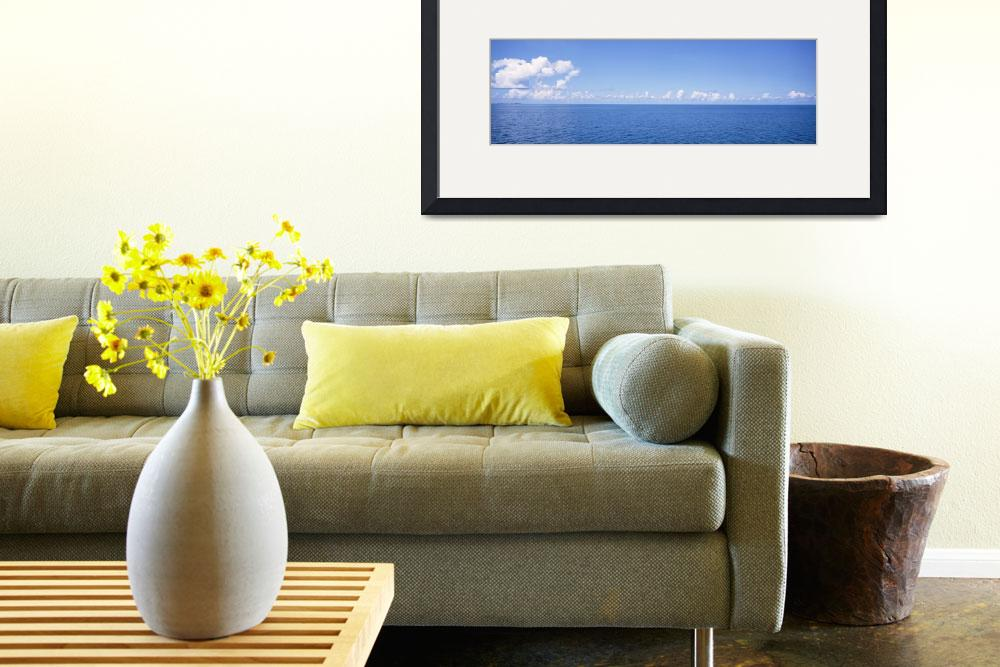 """""""Panoramic view of the ocean""""  by Panoramic_Images"""