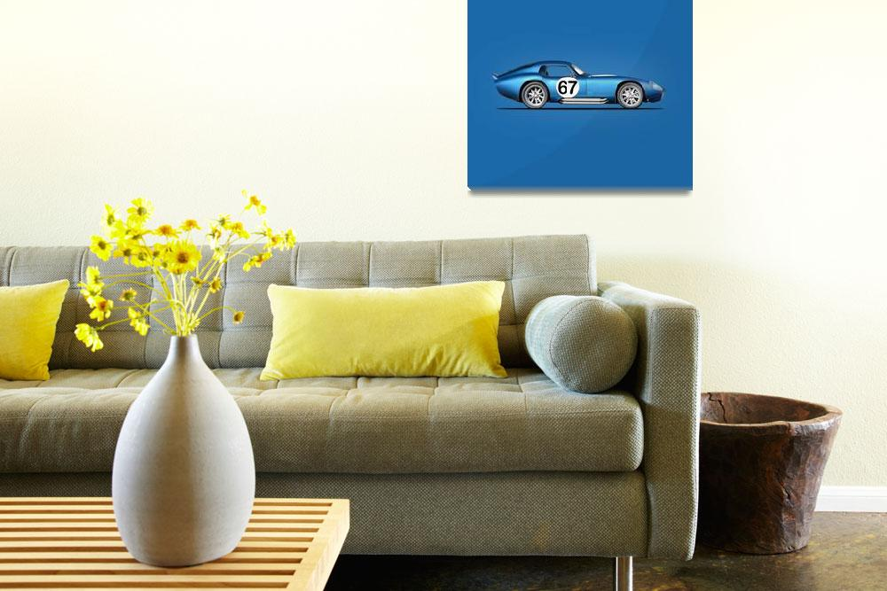 """""""The Shelby Daytona""""  (1964) by mark-rogan"""