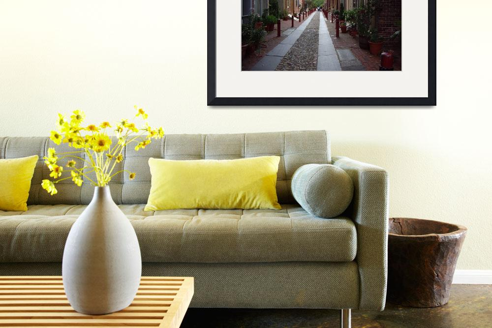"""""""Philly - Oldest Neighborhood&quot  (2008) by HollyB"""