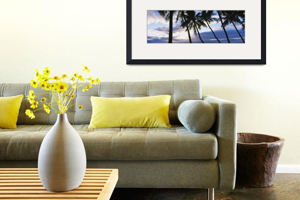 """""""Palm Trees Maui HI&quot  by Panoramic_Images"""