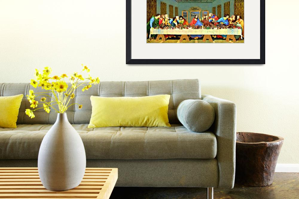 """""""The Last Supper 2&quot  (2014) by bandtdigitaldesigns"""