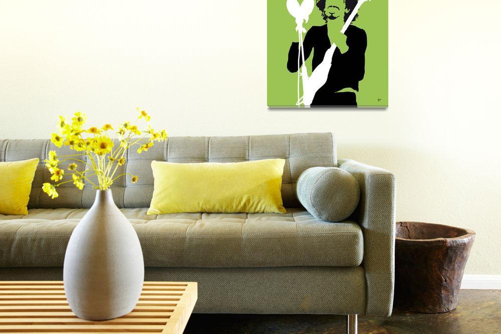 """""""No046 MY SANTANA Minimal Music poster""""  by Chungkong"""
