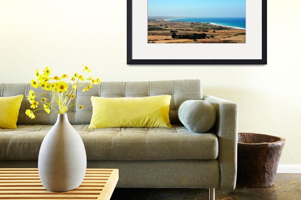 """Cyprian Coastline on the Way to Paphos&quot  by Artsart"