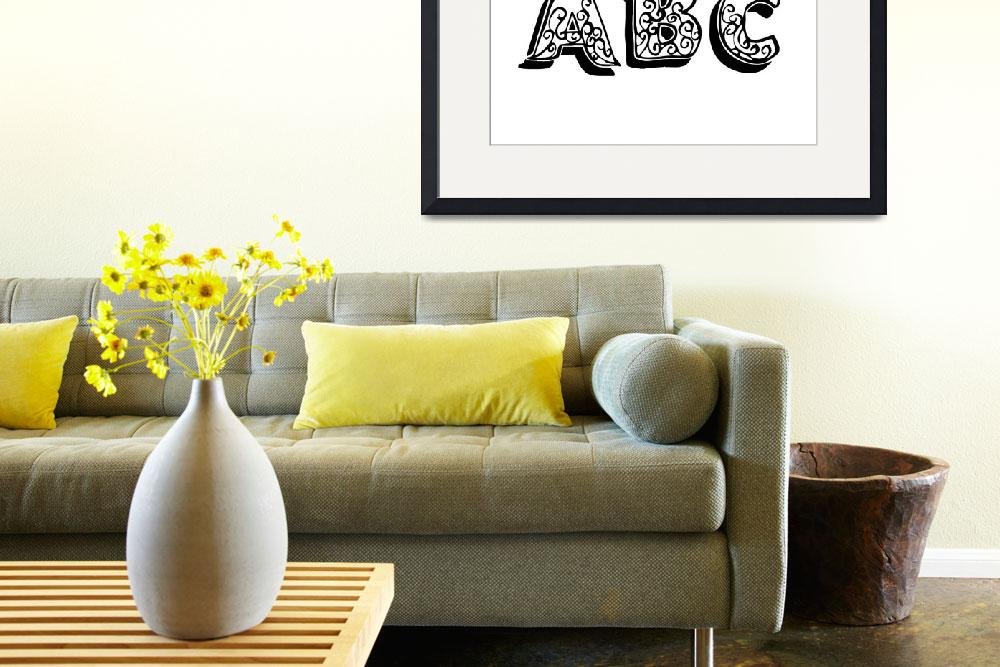 """ABC""  (2011) by designsbyleigha"