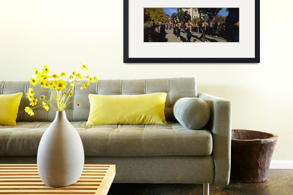 """""""Parade in a university campus&quot  by Panoramic_Images"""