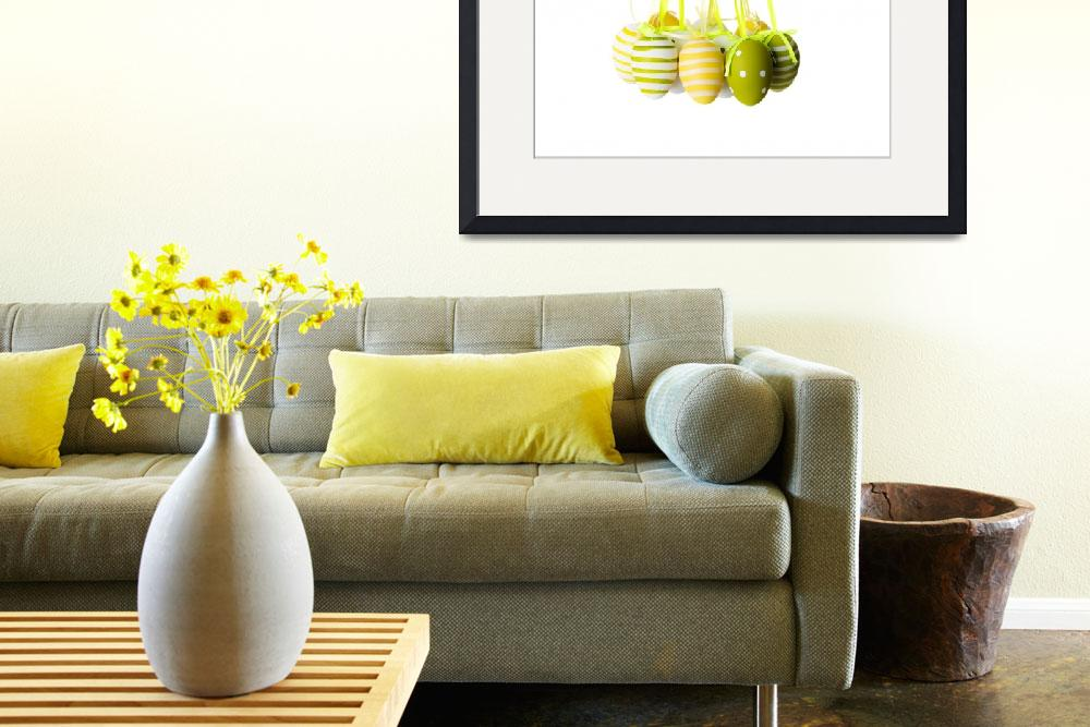 """""""Easter egg decoration, isolated on white&quot  by Piotr_Marcinski"""