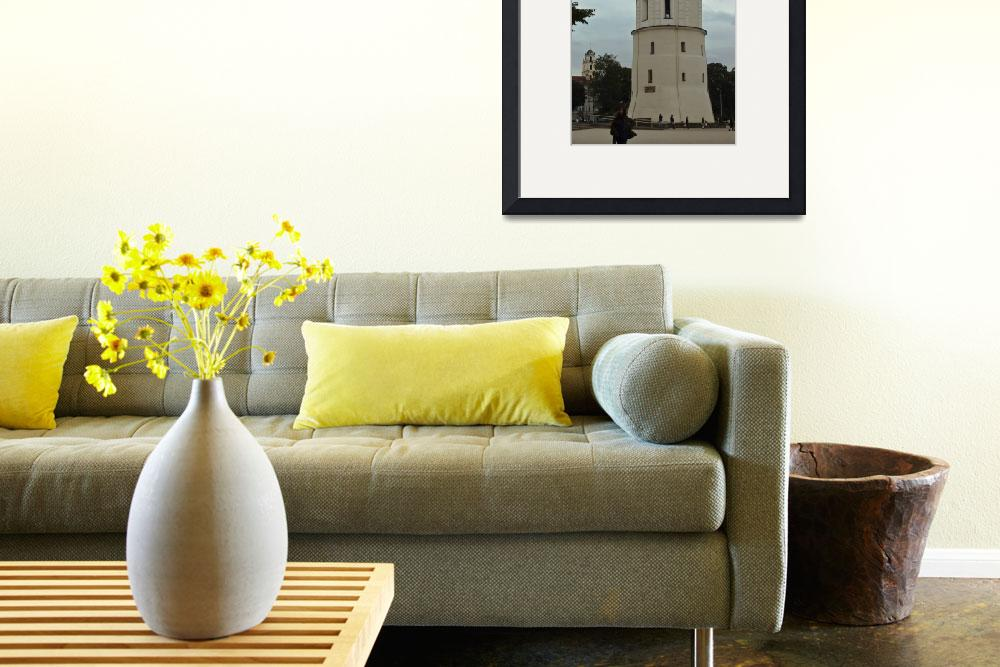 """""""White tower""""  by janesprints"""