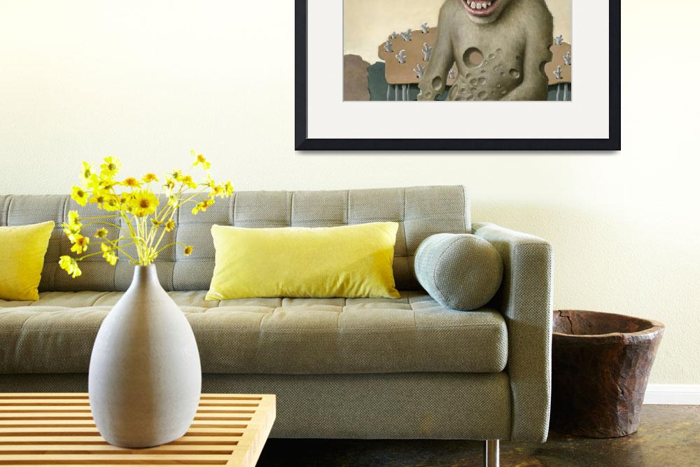 """""""Cheesy Chimp&quot  (2014) by Leibstudio"""