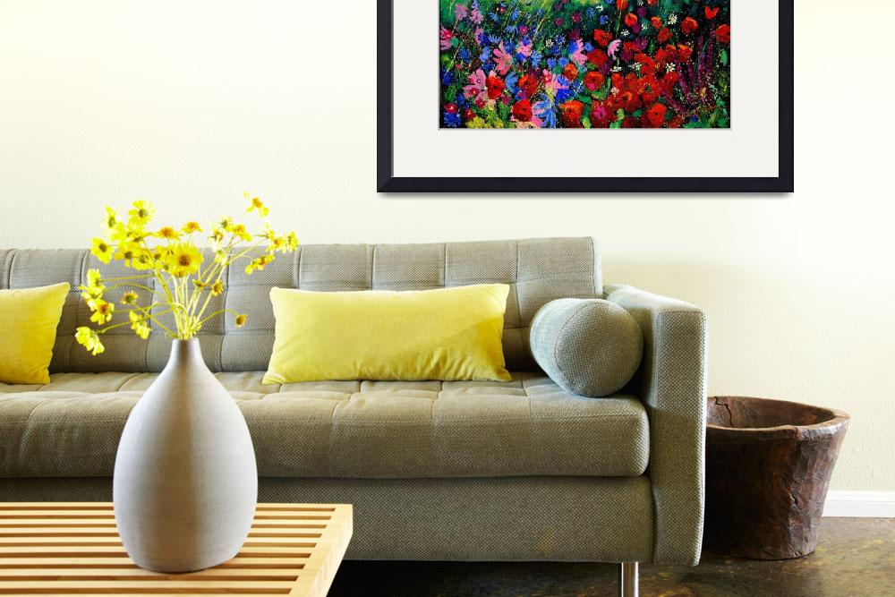 """""""all kinds of field flowers&quot  by pol"""