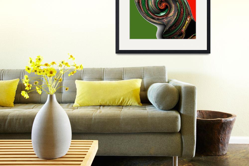 """""""Twisted Italiano&quot  (2008) by ArtPrints"""