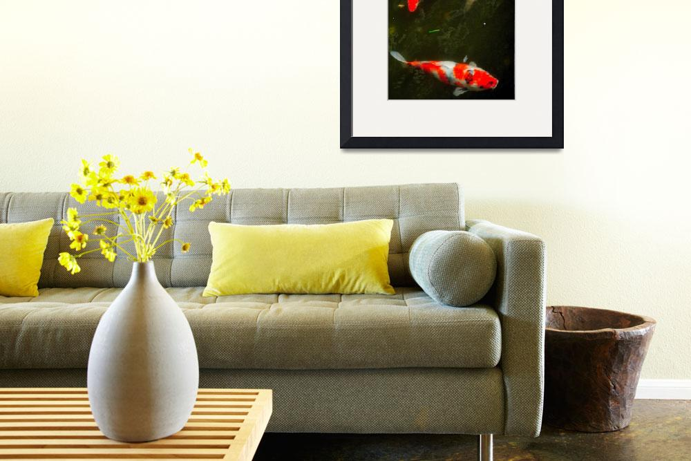 """""""The Fish eating the Flowers&quot  (2012) by JoaoPonces"""