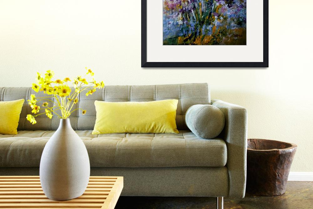 """""""Flower painting 2011""""  (2011) by zampedroni"""