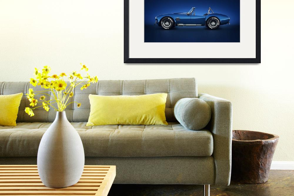 """""""Shelby Cobra 427 - Water Snake""""  (2013) by themeco"""