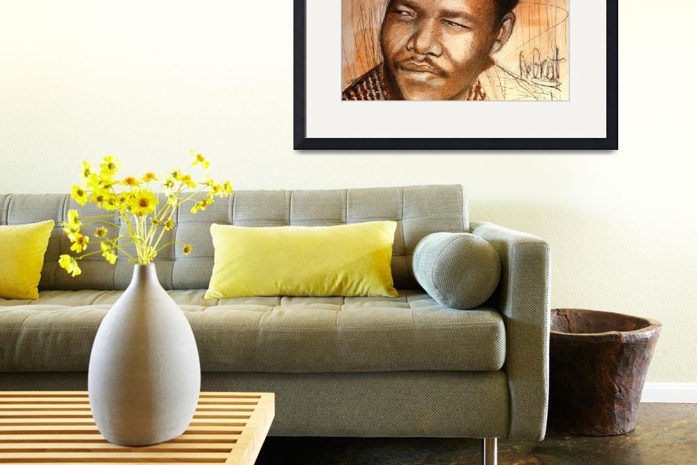 """""""Young Mandela&quot  (2013) by Greggdegroat"""