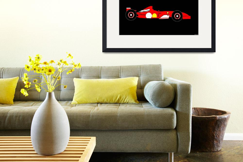 """""""Racing Cars - The Art Dimension - Impression 1&quot  by Lonvig"""