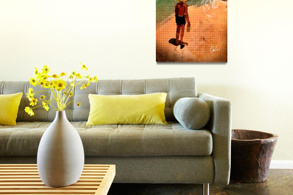 """""""Lazy Day&quot  (2013) by Corinagallery"""