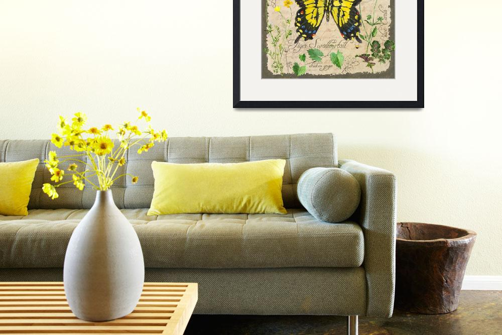 """""""Yellow Butterfly&quot  (2012) by Sharon_himes"""