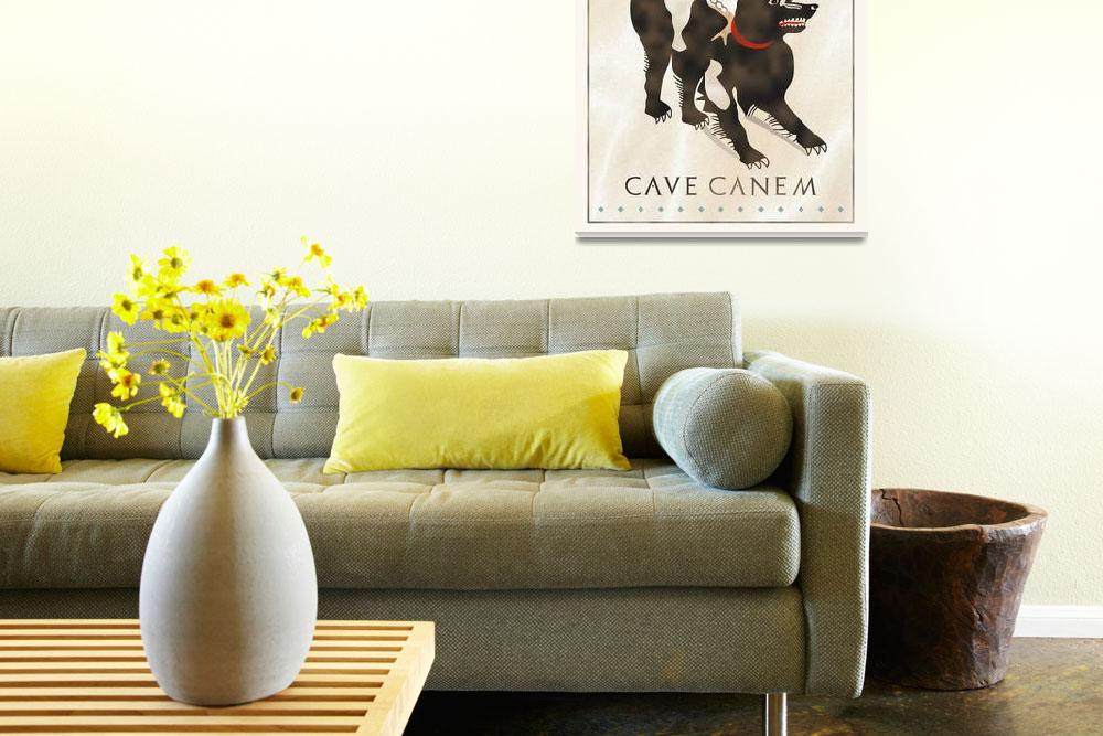 """""""Cave Canem""""  by CovingtonArt"""