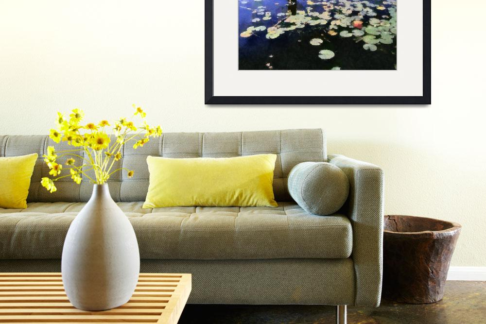 """""""Water Lilies in the River ll""""  (2012) by Michelle1991"""
