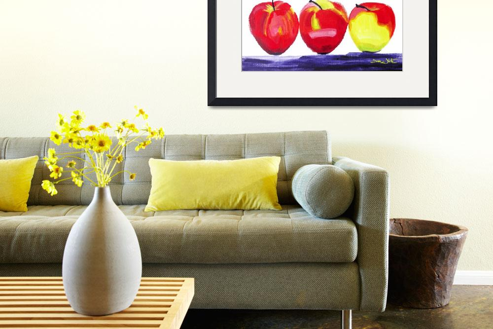 """""""Three Apples&quot  (2017) by"""