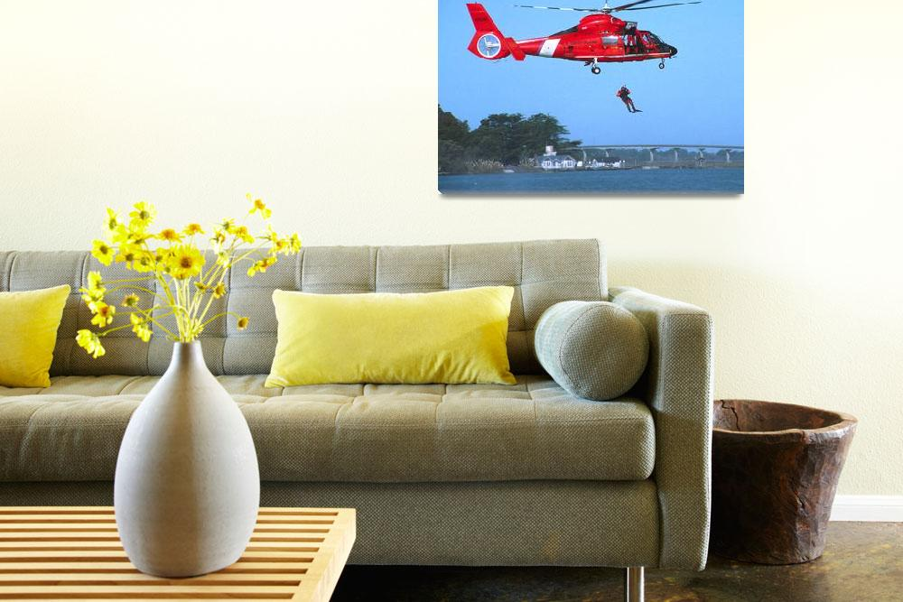 """Coast Guard Chopper&quot  (2009) by buffaloworks"