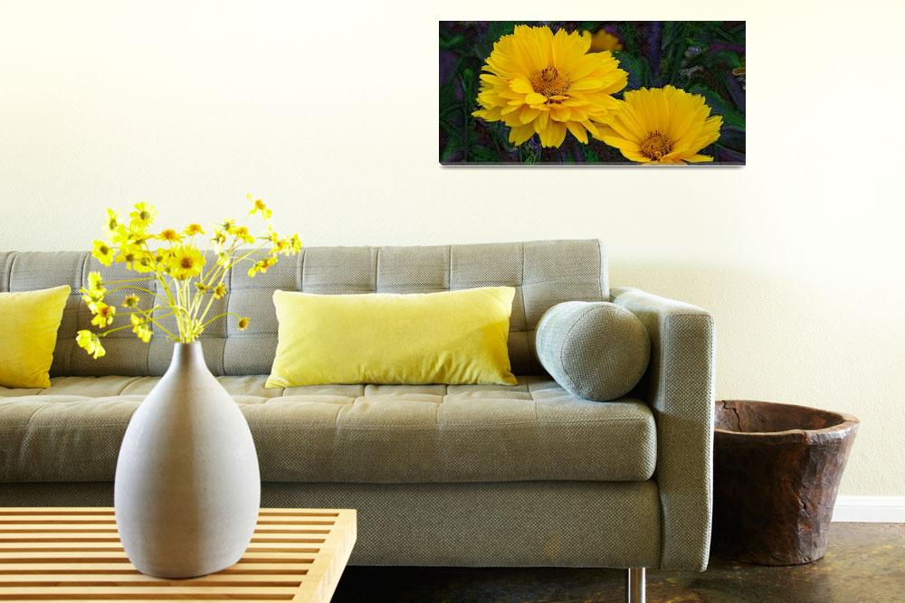 """Coreopsis""  (2011) by eGiclee"