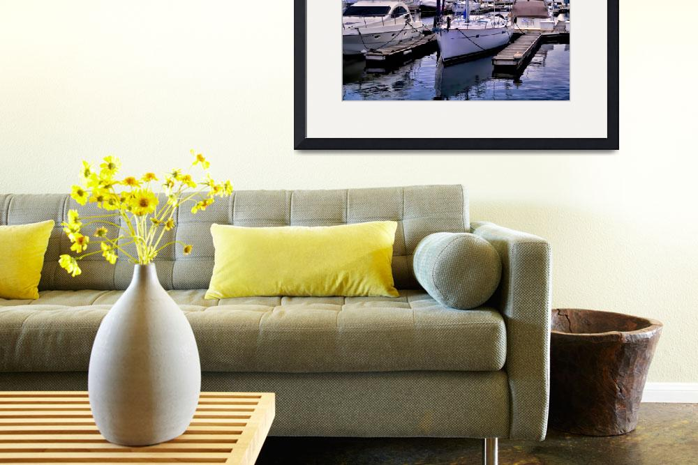 """""""Boats on the Slip&quot  (2008) by DianaLeePhotoDesigns"""