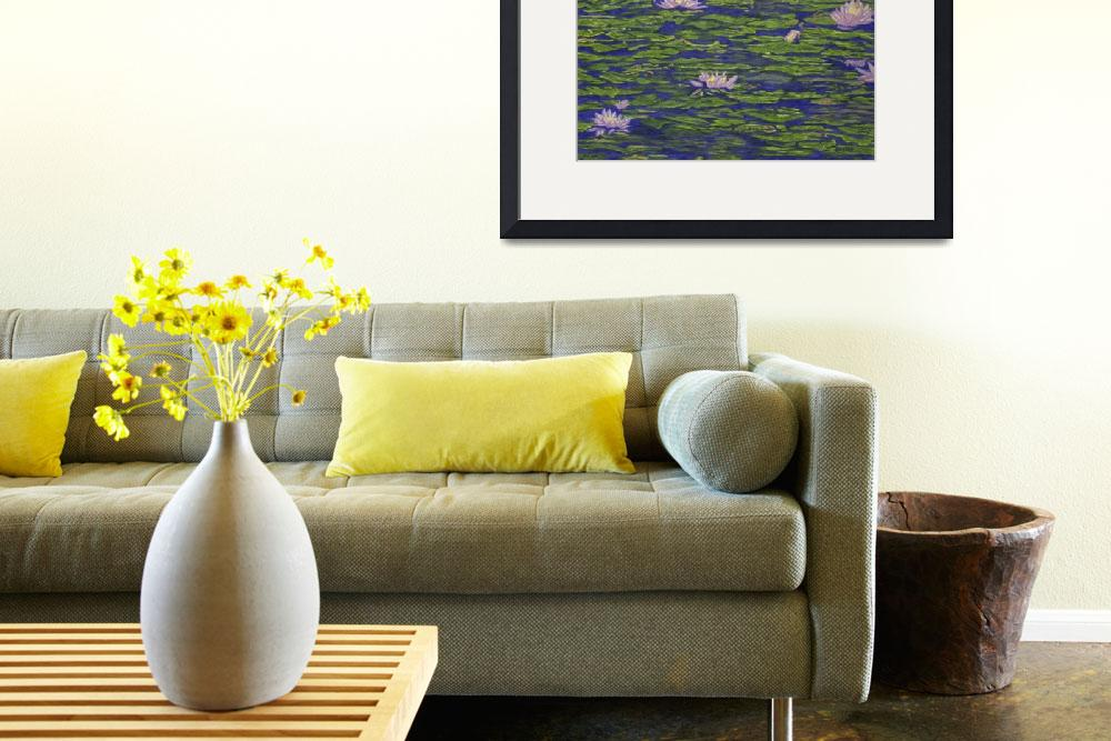 """Fine Art Prints Water Lilies Lily Art Pond Flowers""  (2008) by BasleeTroutman"