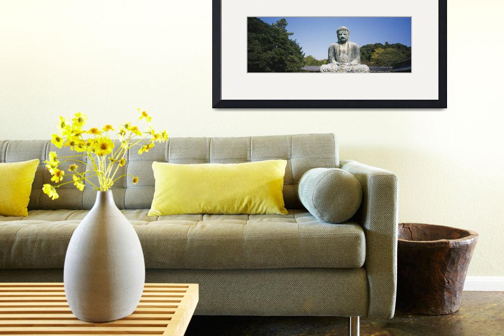 """""""Statue of the Great Buddha&quot  by Panoramic_Images"""