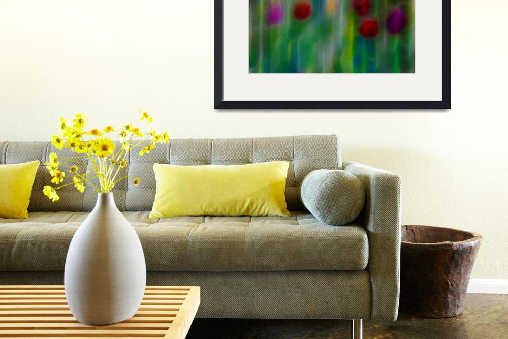 """""""Hint of tulips&quot  (2009) by artforcancer"""