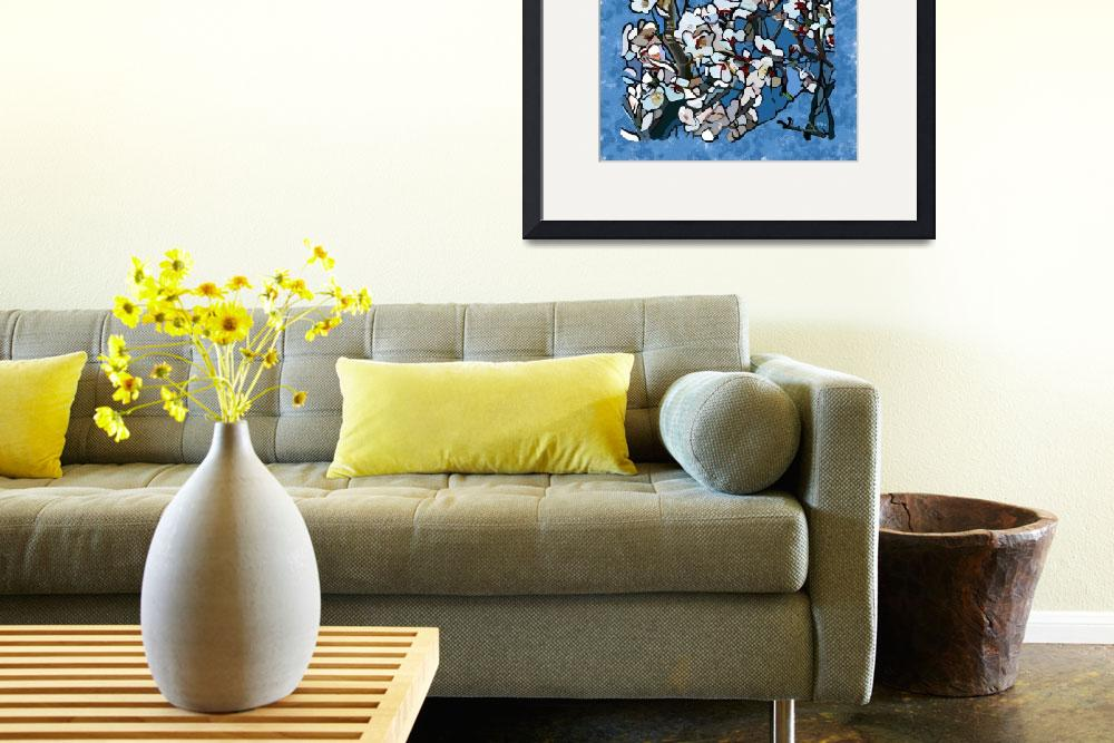 """""""""""Almond Blossoms""""&quot  (2011) by MurGallery"""