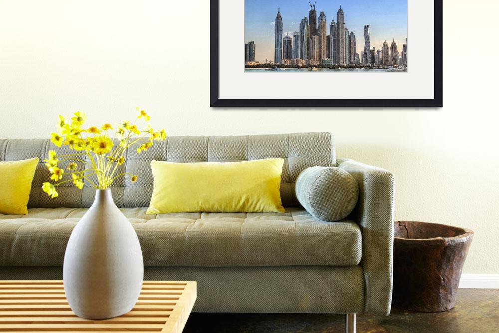 """Downtown Dubai_2&quot  (2013) by SivamDesign"