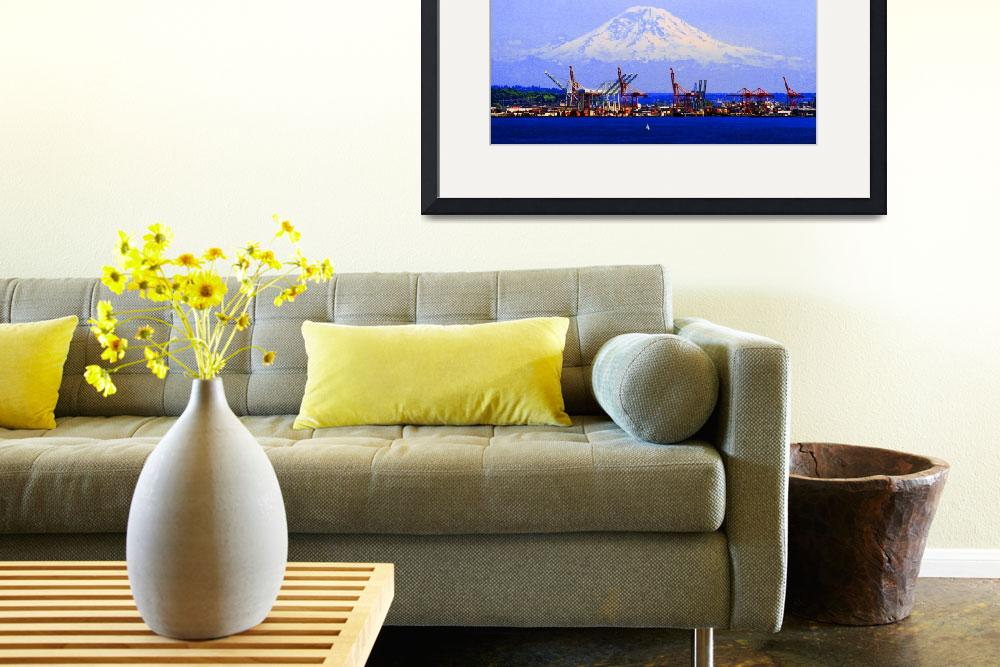 """Mount Rainier&quot  (2009) by nswanson"