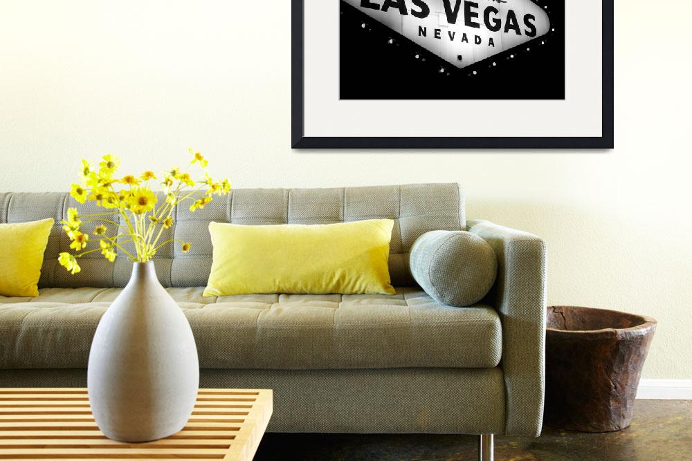 """""""Vegas Sign No. 21&quot  (2008) by PadgettGallery"""