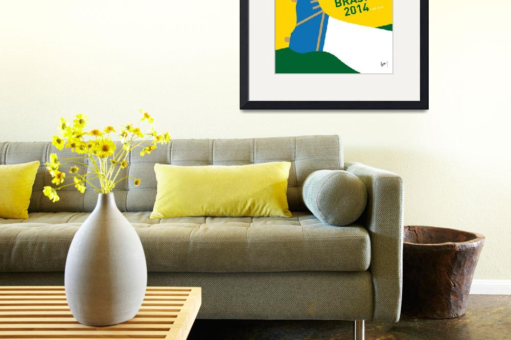 """""""MY 2014 WORLD CUP SOCCER BRAZIL - RIO MINIMAL POST&quot  by Chungkong"""