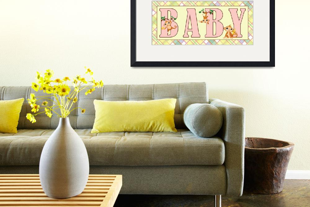 """""""BABY&quot  (2013) by marymase"""