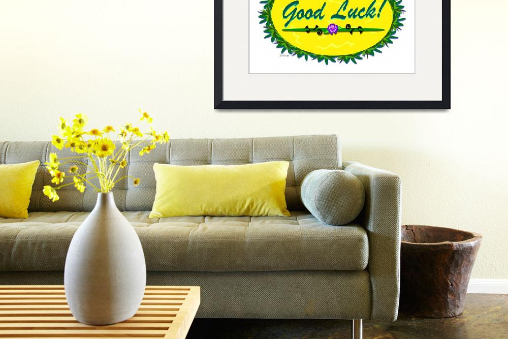 """""""Good Luck Tropical Sign&quot  (2011) by theblueplanet"""