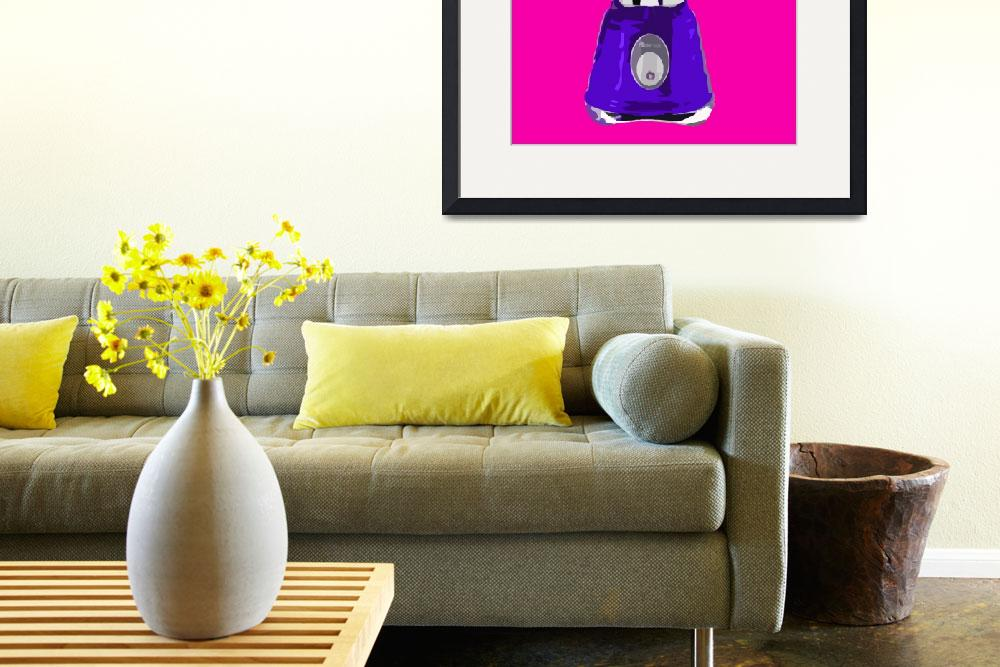 """""""Blender in Pink World&quot  (2010) by whitewallgallery"""