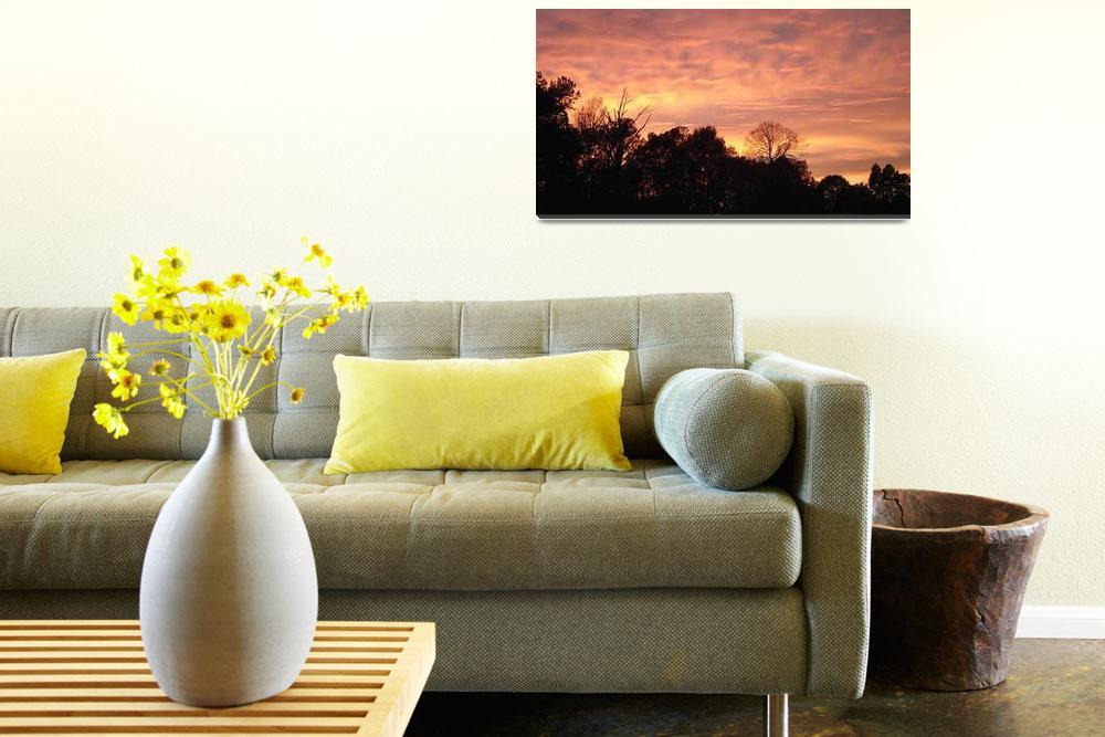 """North Carolina Sunset 3&quot  (2011) by eveningstorm"