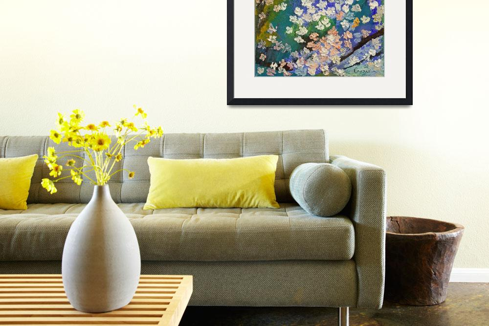 """""""Sakura Oil Painting&quot  by creese"""