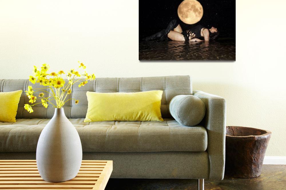 """""""Full Moon Beauty""""  (2012) by jacvalentine"""