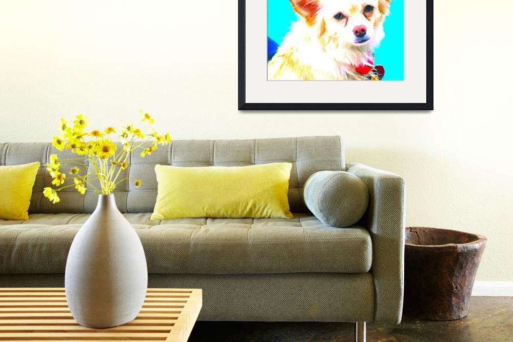 """""""Chihuahua Pop Art&quot  (2008) by nadinerippelmeyer"""