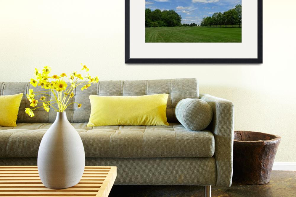 """""""A Picture Perfect Day on the Golf Course""""  (2010) by PatriciaHeise"""