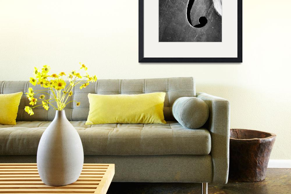 """""""Jazz Bass Poster&quot  (2014) by cinema4design"""