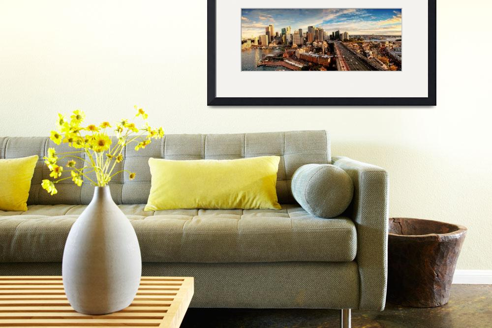 """""""Sydney Panorama&quot  by chan"""